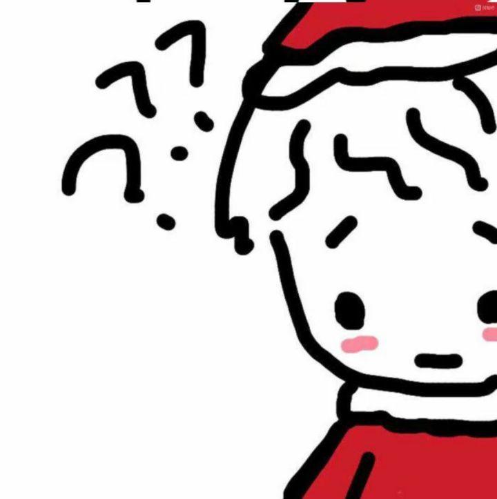圣诞情侣头像80