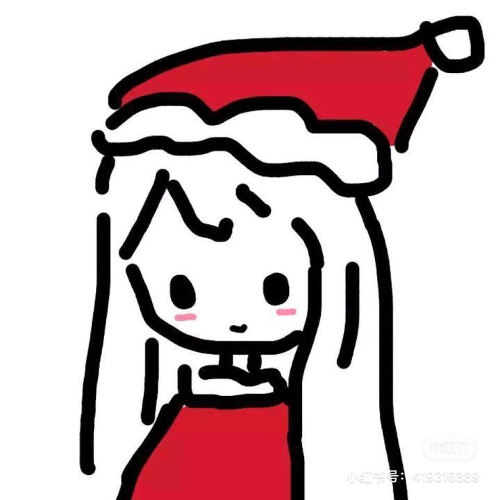 圣诞情侣头像84