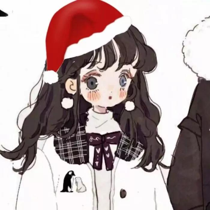 圣诞情侣头像94