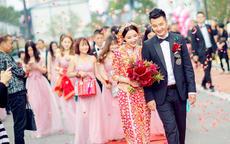 红色结下载app领彩金37服图片 2020新娘红色结下载app领彩金37服款式