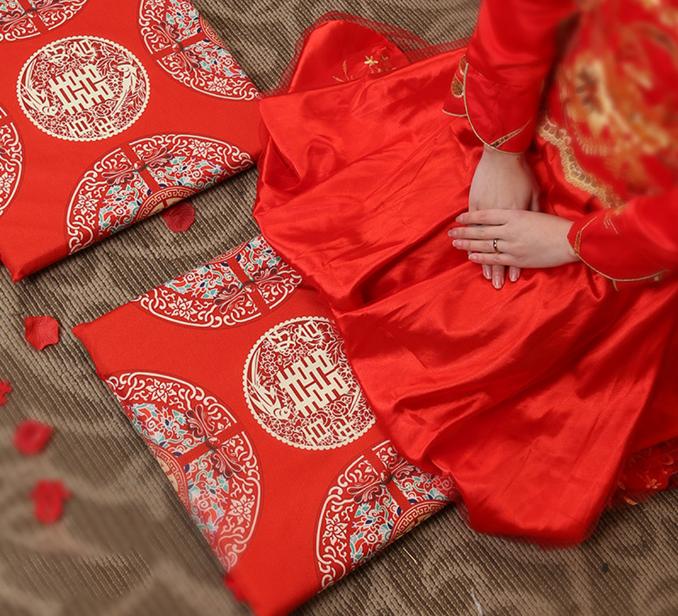 中式敬茶跪垫