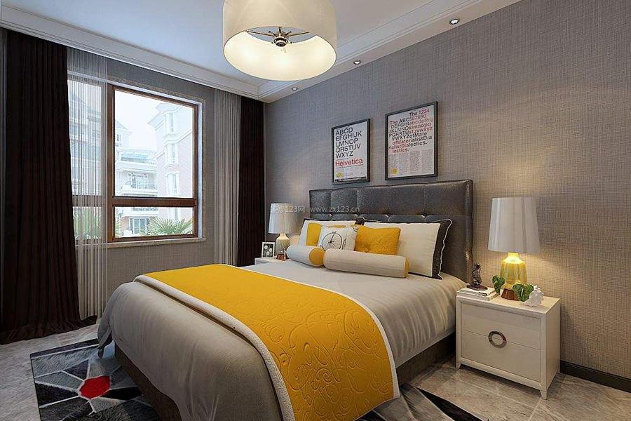 背景墙 房间 家居 起居室 设计 卧室 卧室装修 现代 装修 900_600