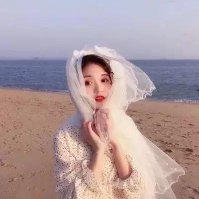 唯美qq婚纱头像女生 女生婚纱照头像