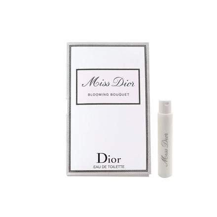 迪奥小姐花漾淡香氛香水1ml 小样试用装