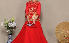 新娘礼服秀禾服款式选择