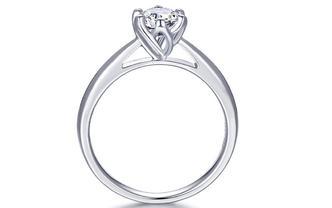 钻石海洋—玉兰—六爪求婚订婚结婚钻戒