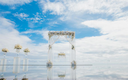 【巴厘岛婚礼】海之天空婚礼 海外婚礼 一价全包