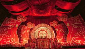 【新年有礼】中国红惊艳时光古风中式婚礼套系