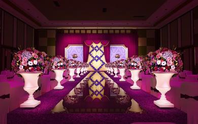 《紫醉金迷》主题定制婚礼