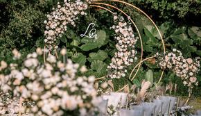【洋气草坪婚礼】户外仪式+包含主持摄影