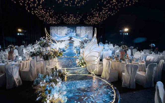 【尚壹婚礼】蓝鲸系列 海洋风定制婚礼
