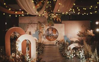 我的走心泰式焦糖色系婚礼