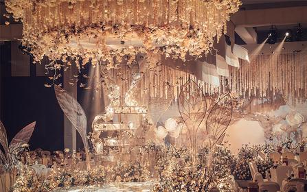 奢华香槟金世纪婚礼——花誓