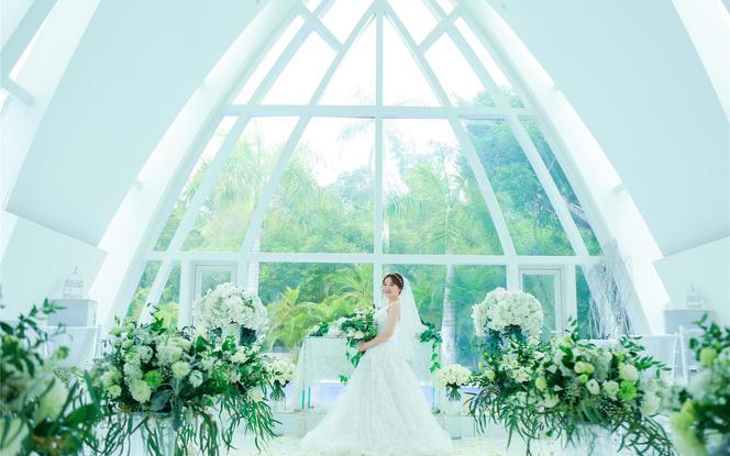 三亚天涯海角教堂婚礼 一价全包含住宿
