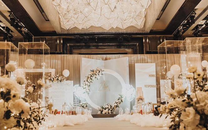 【US婚礼】简约小清新主题婚礼