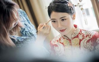 【简漫美妆】夏日婚礼季活动资深化妆师跟妆