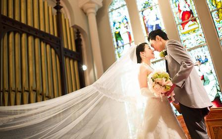 『日本彩摄影 教堂婚礼』九月超值限购套餐