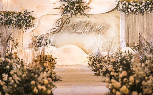 【匠心婚礼】香槟色婚礼现场实拍案例