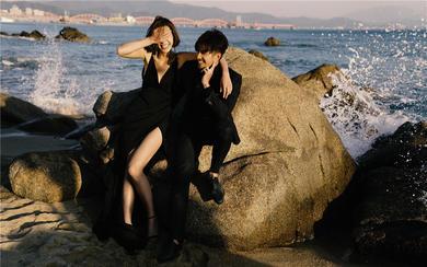三米婚纱摄影一最新海边婚纱