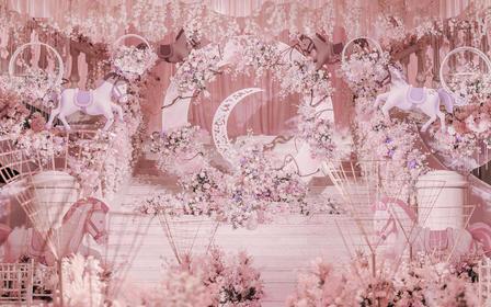 【喜铺】华尔兹甜蜜粉色主题套系