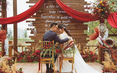 超美的室内婚礼  诗缔婚礼