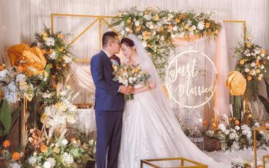 橙色小清新婚礼 青葱岁月一路以来的小确幸