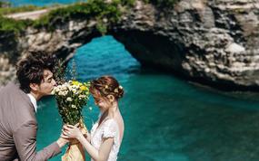 巴厘岛旅拍ღ别墅酒店ღ清新轻婚纱ღ送网红景点游玩