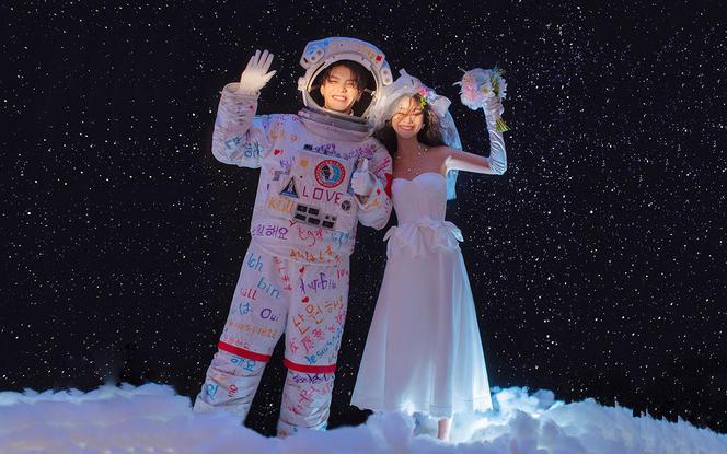 疯抢!超人气爆款#太空人系列丨加送豪华婚嫁礼包