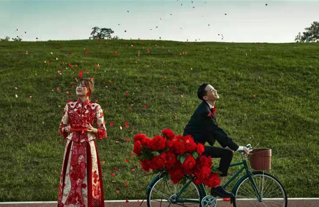 草坪/城市街拍/法式轻奢/大旅行家婚纱照