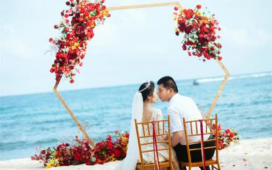 【三亚薇婷】两人薇婚礼