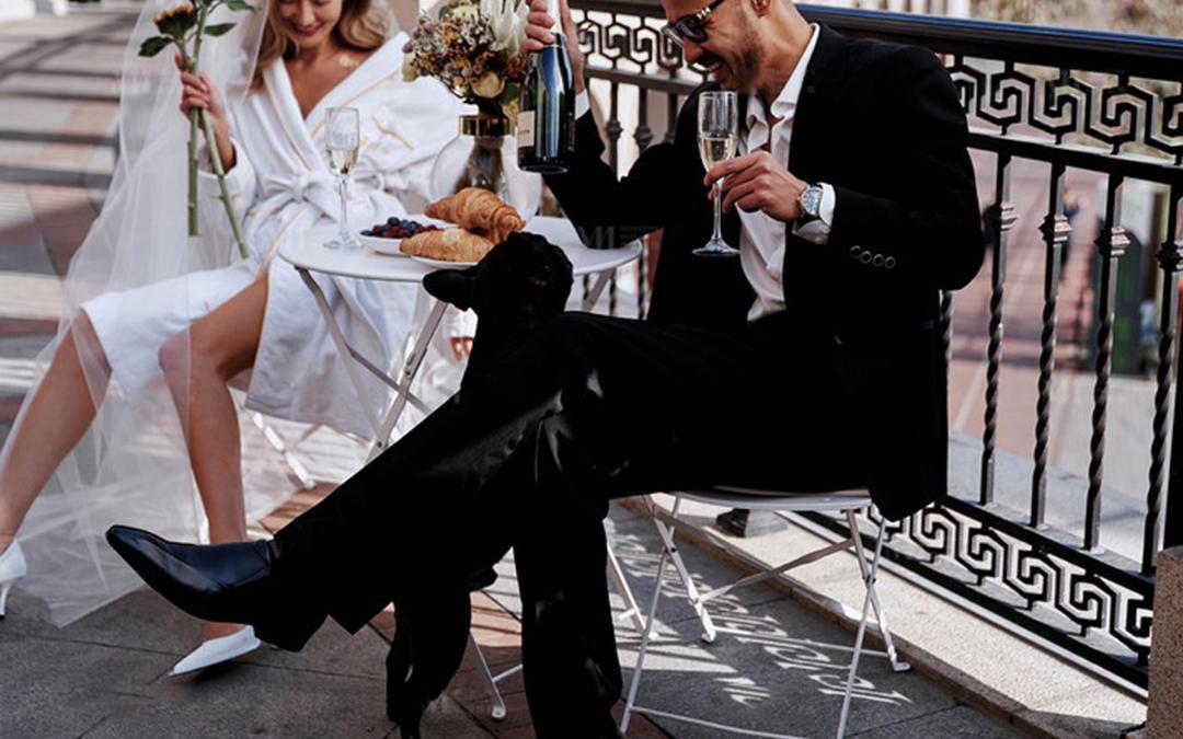 【公路潮拍+摩登色彩】婚纱照主题拍摄