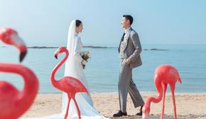 私人订制海景婚纱照 总监级拍摄一对一服务。