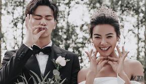 INS森系丨创意棚拍丨婚纱照