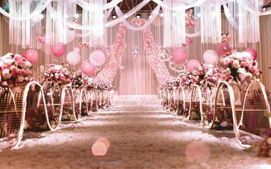 【金喜汇】云端上的粉色婚礼
