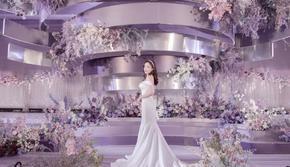 紫色经典轻奢主题婚礼