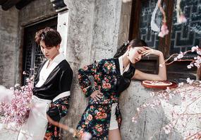 海景+街拍+韩式+森系一价全包8服8造礼服任选