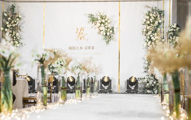 【五厘米婚礼】——大气香槟金婚礼