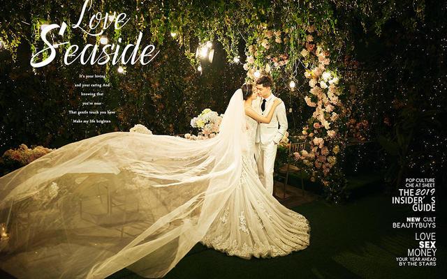【玛莎迪奥】样片上新——唯美室内婚纱照