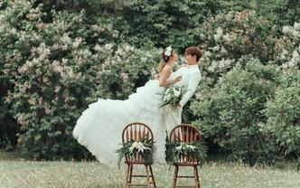 24大热门外景穿着婚纱,嫁给爱情明星定制套餐