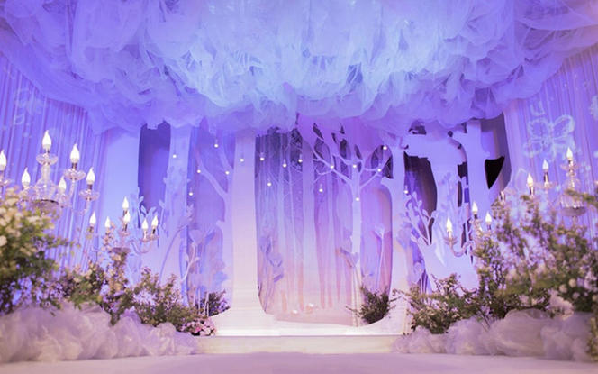 【天赐婚礼】《秘境》唯美梦幻紫精致典雅送首席司仪