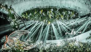 【豫上】   白绿主题婚礼+总监摄影摄像