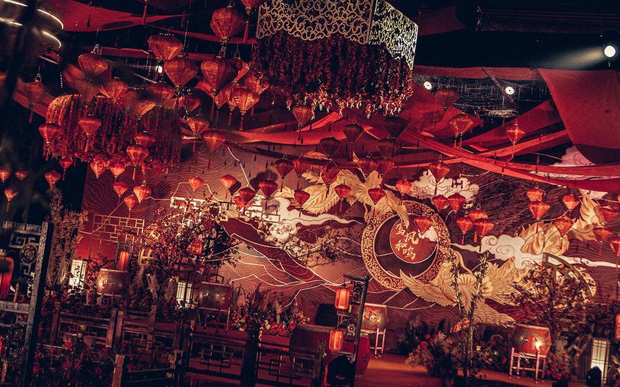 【蓝戒指婚庆】--红色中式婚礼