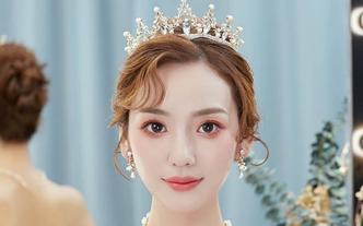 小妮美妆新娘跟妆半天妆+送2个姐妹妆