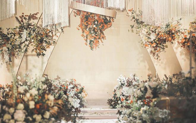 【午后的惬意时光】复古主题婚礼/花艺效果满分