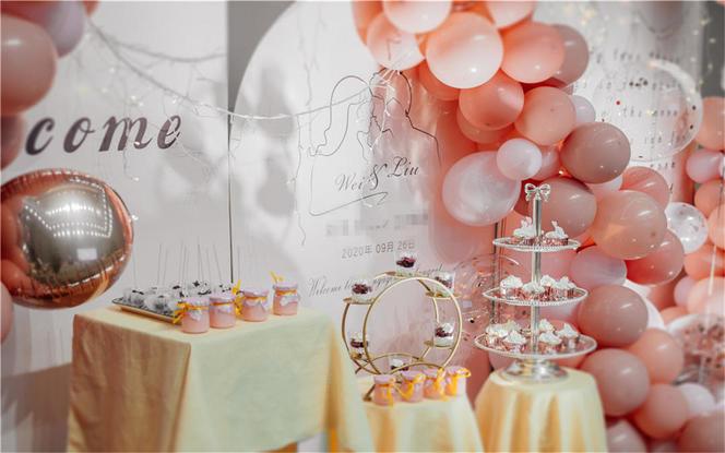 【梦幻季】生活要有仪式感的订婚宴,定制多款可任选