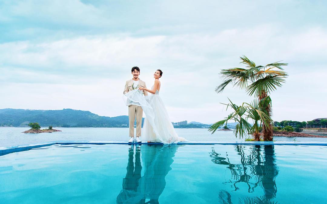 【活动限定套系】千岛湖旅拍婚纱照,仅限20名