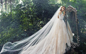 【一价全包】进口婚纱礼服7件套+男装定制一套