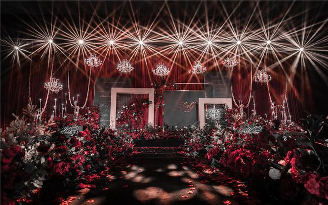 【炽恋】——红黑西式大气婚礼