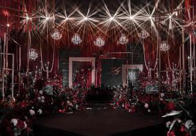 【艾尔婚礼】黑红色系