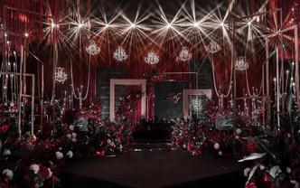 超值套餐【艾尔婚礼】黑红色系